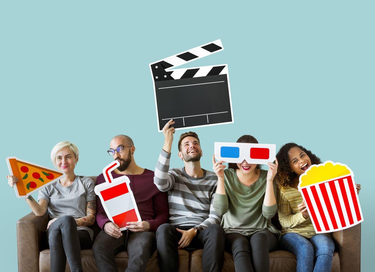 自宅で映画を観るなら動画配信サービスで!【厳選6選!徹底比較!】